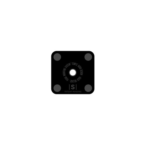 Temple Audio Quick Release Pedal Plates Small