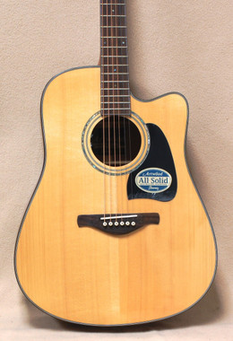 Ibanez Artwood Series AW3000CE Acoustic Electric Guitar in Natural