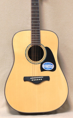 Ibanez Artwood Series AW3080 Acoustic Guitar in Natural