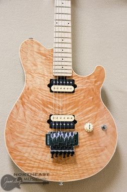 ERNIE BALL MUSICMAN AXIS IN NATURAL ON QUILT (EBMMAXISNAT)