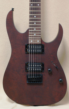 Ibanez RG Series RG421CW Electric Guitar Charcoal Brown Flat
