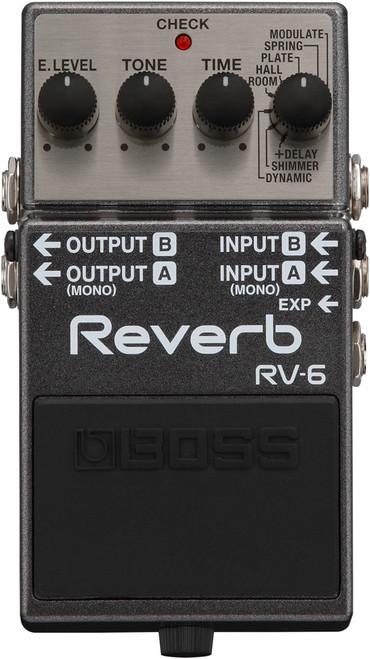 Boss RV-6 Digital Reverb Pedal