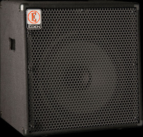 Eden EC15 180W 1x15 Solid State Combo Bass Amp in Black
