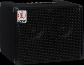 Eden EC28 180W 2x8 Solid State Combo Bass Amp in Black