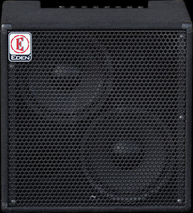 Eden EC210 180W 2x10 Solid State Combo Bass Amp in Black