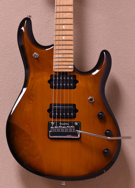 Ernie Ball Music Man John Petrucci 6 in Vintage Tobacco Burst w/ Matching Headstock