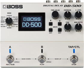 Boss DD-500 Digital Delay Guitar Effects Pedal