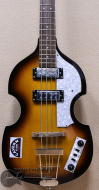 Hofner Igniton Beatle Bass Cavern Club LTD in Sunburst with Hardshell Case