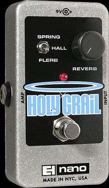 Electro-Harmonix Holy Grail Nano Reverb Guitar Effects Pedal