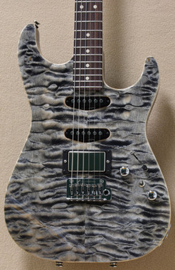 Tom Anderson Drop Top in Natural Black with Binding