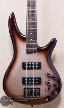 Ibanez SR300E Electric Bass Guitar in Charred Champagne Burst