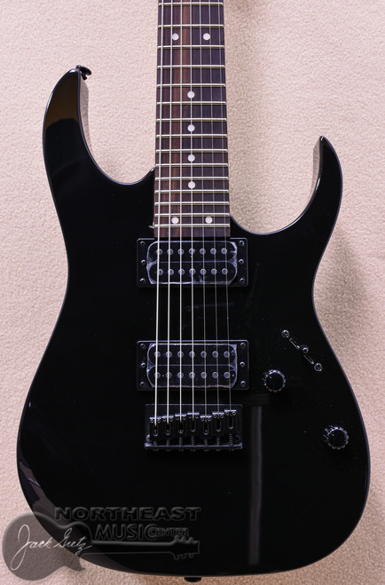 Ibanez GRG7221 7-String Electric Guitar in Black (GRG7221-BK)