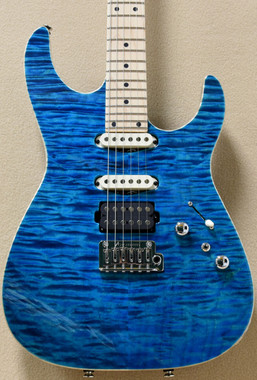 Tom Anderson Angel in Deep Bora Bora Blue with Binding
