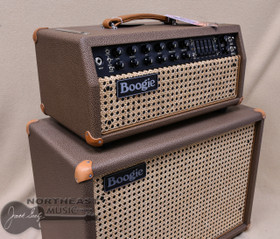 Mesa Boogie Mark V 35 Amplifier with Vintage 30 Speaker Cabinet in Cocoa with Wicker Grill