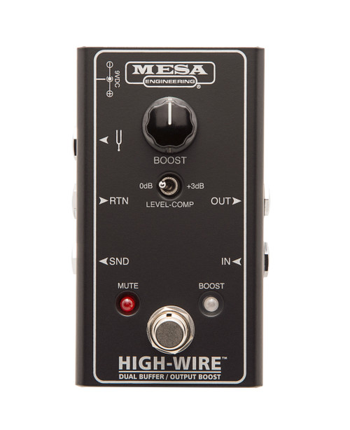 Mesa Boogie High-Wire Dual Buffer & Output Boost