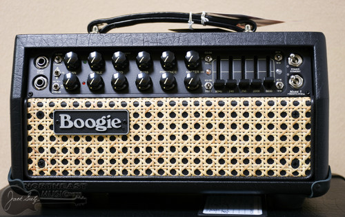 Mesa Boogie Mark V-25 Head and Lonestar 19' Cab in Black with Wicker