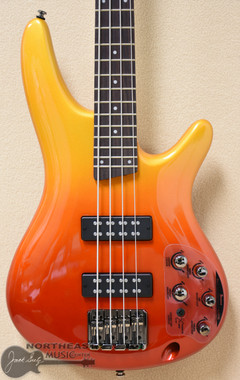 Ibanez SR300E Electric Bass Guitar in Autumn Fade Metallic (SR300E_AFM)