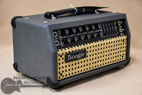 Mesa Boogie Mark V 25 Amplifier Head in British Slate Bronco with Wicker Grille & Black Welt (2.MM.117D.V07.G07.P01.H03.C01)