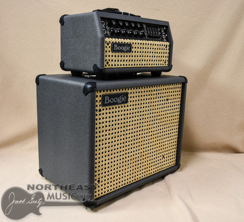 Mesa Boogie Mark V 25 Amplifier Head and Matching 1x12 Theil Cab in British Slae Bronco with Wicker Grille and Black Welt (2.MM.117D.V07.G07.P01.H03.C01 & 0.112T.V07.G07.XXX.H01.C01.C90+ )