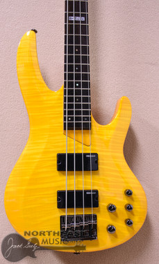 ESP/LTD B-154DX Electric Bass in Honey Natural Finish (LB154DXHN)