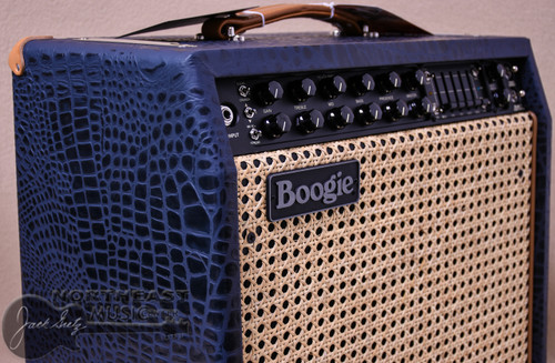 Mesa Boogie Mark V 35 Combo in Navy Croc with Wicker Grille