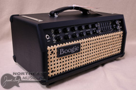 Mesa Boogie Mark V 35 Head in Black with Wicker Grille (2.M35.117D.V01.G07.P01.H03.C01.XXX)