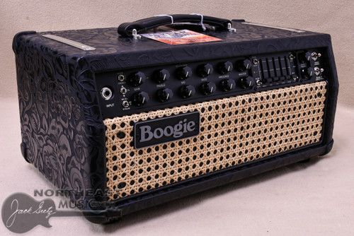 Mesa Boogie Mark V:35 Head in Black Floral leather with Wicker Grille (2.M35.117D.L14.G07.P01.H03.C01.XXX)
