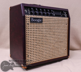 Mesa Boogie Mark V:35 Combo in Wine Taurus with Wicker Grille and Tan Leather Corners (1.M35.117D.V26.G07.P03.H04.C02.C90)
