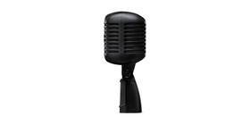 Shure Super 55 Deluxe Vocal Microphone Limited Edition Pitch Black (Super 55-BLK)