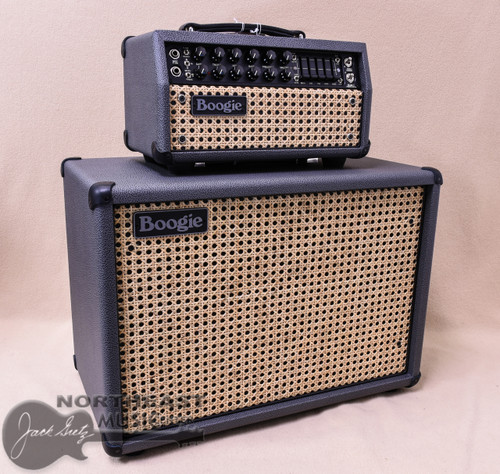 Mesa Boogie Mark V:25 Head with Matching 1x12 Widebody Cabinet in British Slate with Wicker Grille and Black Welt