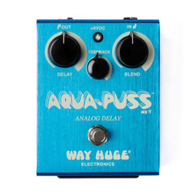 Way Huge Aqua-Puss Analog Delay Pedal (WHE701)