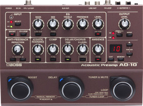 Boss AD-10 Acoustic Pre-Amp (AD-10)