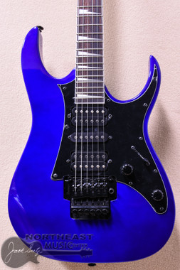 Ibanez GRG250DXB Electric Guitar With Floyd Rose Tremolo Bridge in Jewel Blue (GRG250DXB-JB)