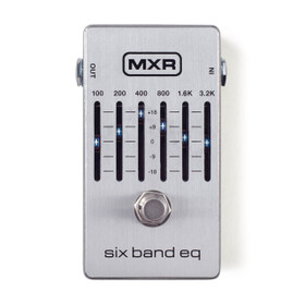 MXR 109S Six Band Equalizer Pedal