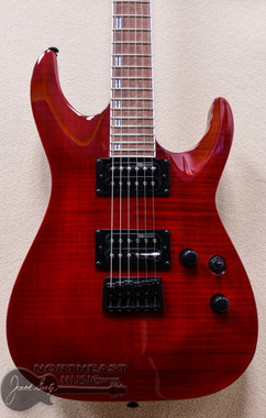 ESP/LTD LH-200FM Electric Gutiar in See Thru Red