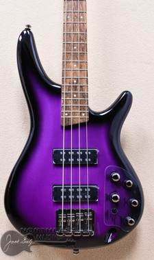 Ibanez SR300e Electric Bass in Metallic Purple Sunburst