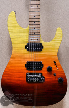 Ibanez AZ242F Premium Electric Gutiar in Tequilla Sunrise Gradiation (AZ242FTSG)
