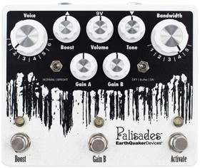 EarthQuaker Devices Palisades Mega Ultimate Overdrive (PALISADESV2)