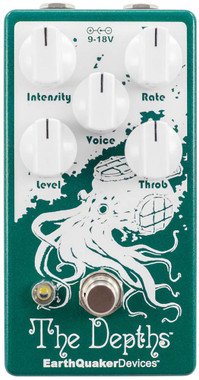 EarthQuaker Devices The Depths Analog Optical Vibe Machine (DEPTHSV2)