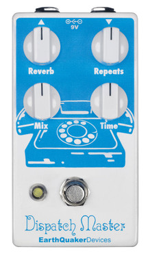 EarthQuaker Devices Dispatch Master Digital Delay and Reverb (DISPATCHMASTERV2)