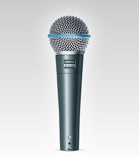 SHURE BETA 58A SUPER CARDIOID DYNAMIC MICROPHONE
