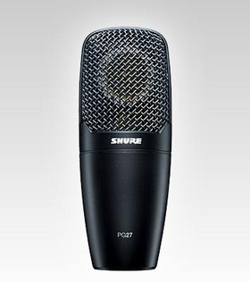 SHURE PG27 CONDENSER CARDIOID MICROPHONE