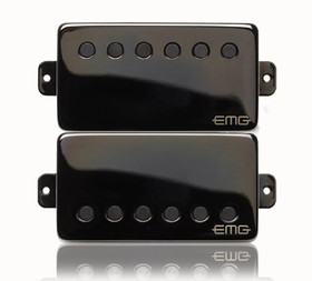 EMG PICKUPS JAMES HETFIELD SET IN BLACK CHROME