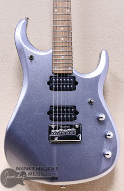 Music Man JP13 John Petrucci 6-String Electric Guitar Platinum Silver (EBJP13PS)