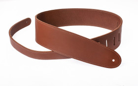 "Henry Heller 2.5"" Amalfi leather double ply guitar strap"