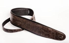 Henry Heller padded Capri distressed vintage brown leather strap
