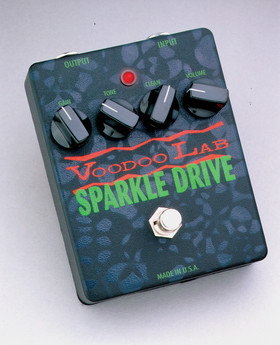 Voodoo Lab Sparkle Drive Guitar Pedal