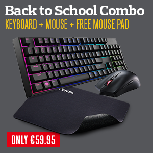 Add to cart to receive free mouse pad