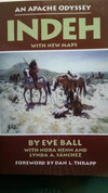 An Apache Odyssey Indeh with New Maps by Eve Ball with Nora Henn and Lynda A Sanchez (Signed copy by Lynda Sanchez)