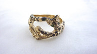 Serval Savannah Ring 14kt Gold